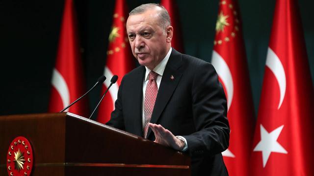 Erdoğan: Suriye'de en kısa sürede gereken adımları atacağız