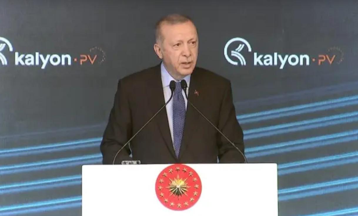 Erdoğan: Türk ekonomisi salgın öncesi ivmesini tekrar yakalamış görünüyor