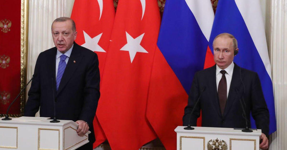 Erdoğan ve Rusya Devlet Başkanı Putin, Soçi'de bir araya geliyor