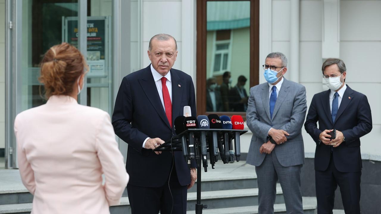 Erdoğan: Yangın mahaline, görevli olmayanlar bundan böyle kesinlikle alınmayacak