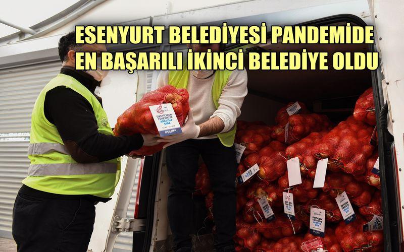 Esenyurt Belediyesi Başkanı Kemal, en başarılı ikinci belediye başkanı oldu