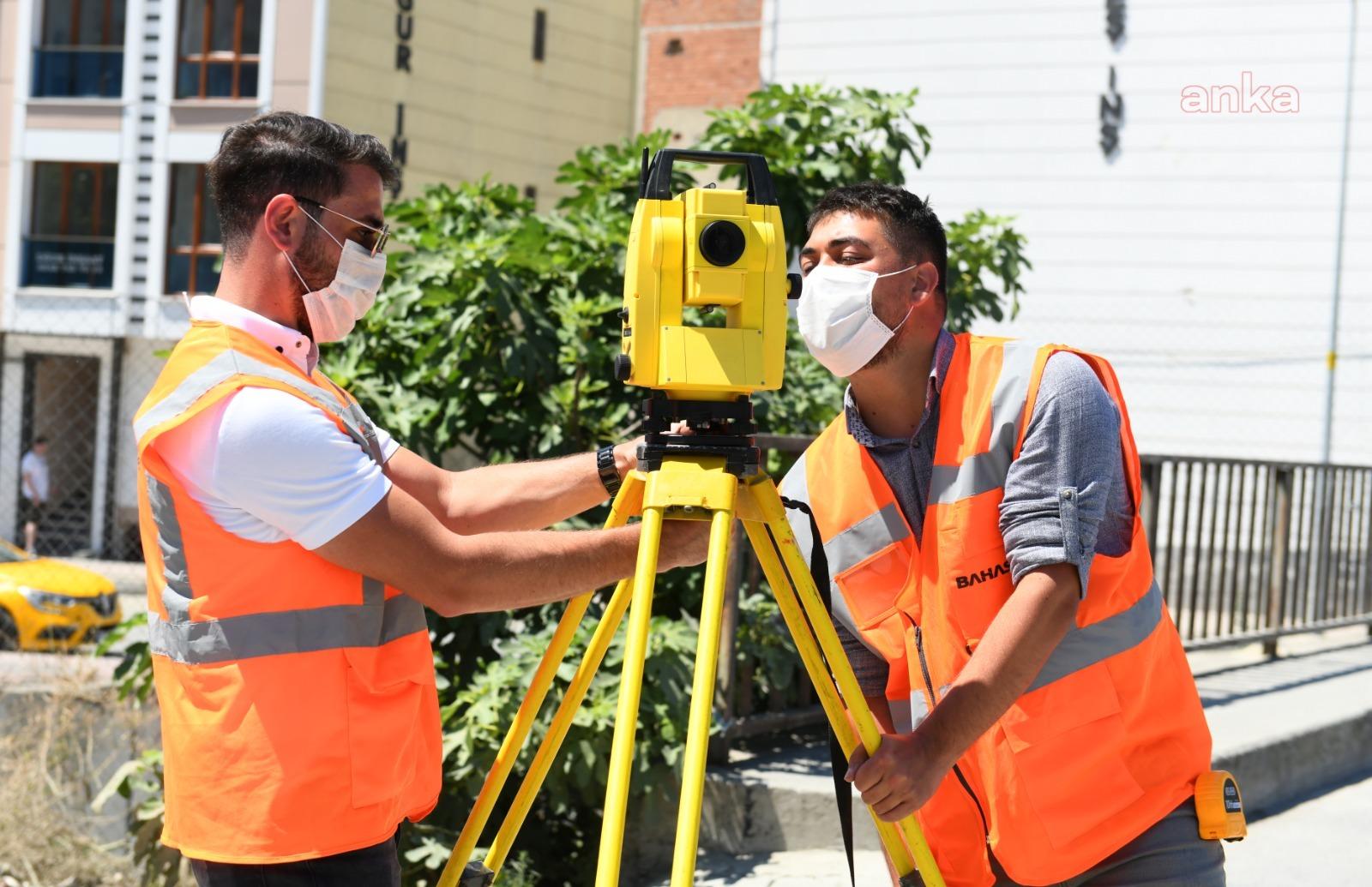 Esenyurt Belediyesi Haramidere'nin ölçümlerini tamamladı