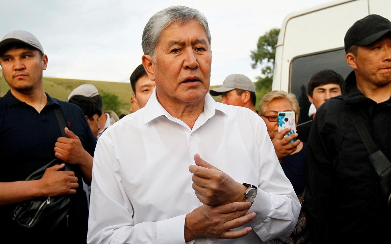 Eski Kırgızistan devlet başkanına 11 yıl hapis