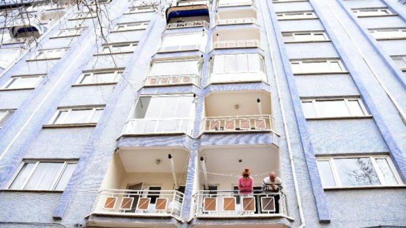 Eskişehir'de 14 daireli bina karantina altına alındı