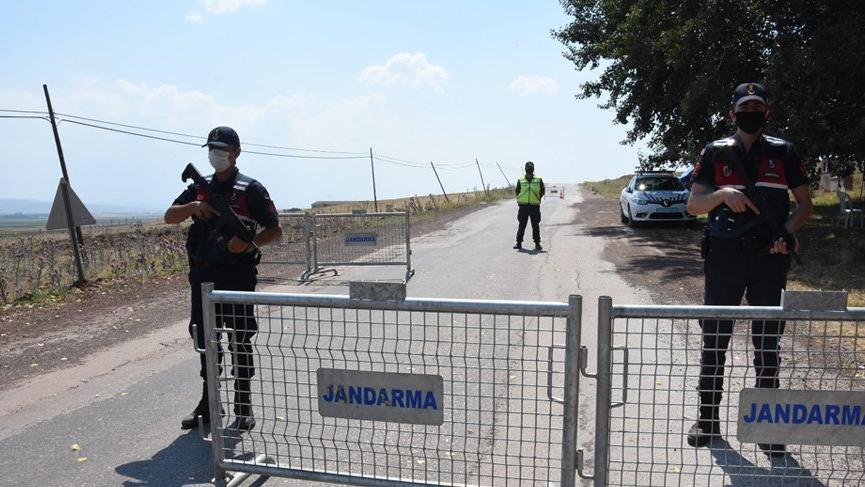 Eskişehir'de 400 kişilik mahalle karantinaya alındı