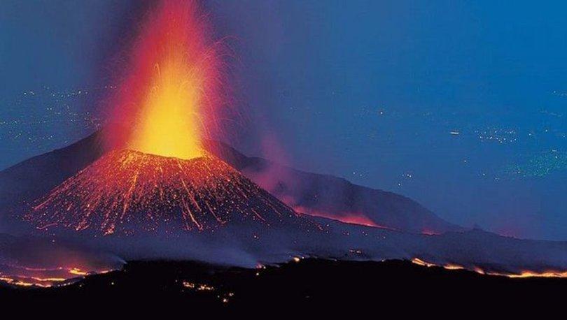 Etna Yanardağı yeniden faaliyete geçti