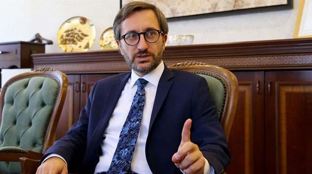 Fahrettin Altun, 'Boğaz'da kaçak var' başlıklı habere 250 bin liralık tazminat talebiyle dava açtı