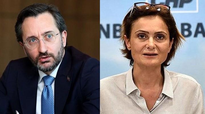 Fahrettin Altun'un Kaftancıoğlu'na açtığı dava sonuçlandı