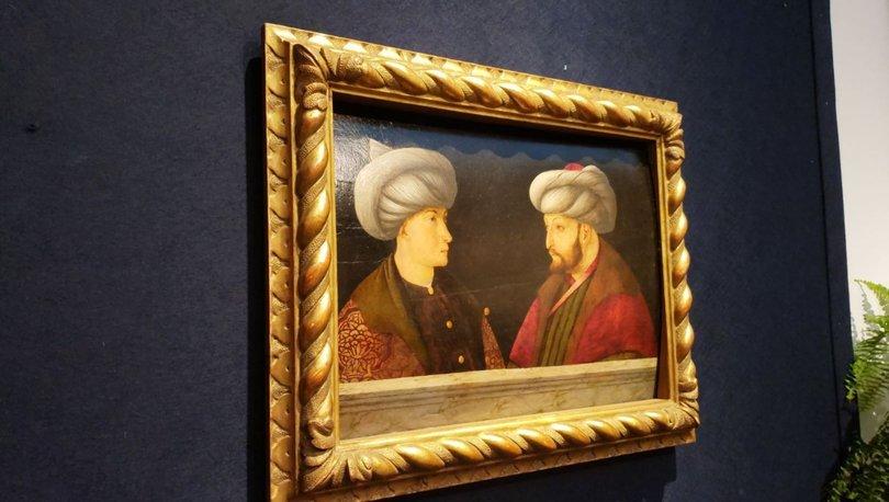 Fatih'in portresi halk ziyaretine açıldı