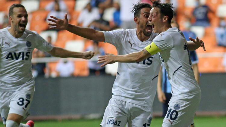 Fenerbahçe, ADS deplasmanında Mesut Özil'in golüyle kazandı