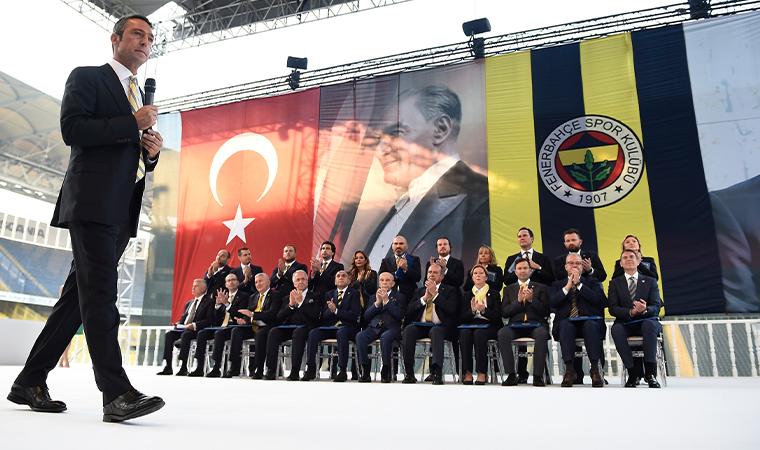 Fenerbahçe'de kongre: Ali Koç'un yönetim kurulu aday listesi açıklandı