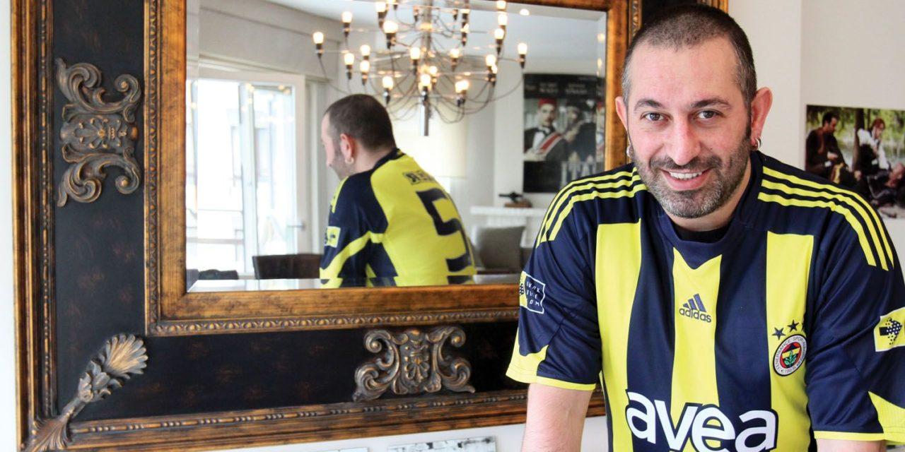 Fenerli Cem Yılmaz'dan Beşiktaş'a anlamlı destek
