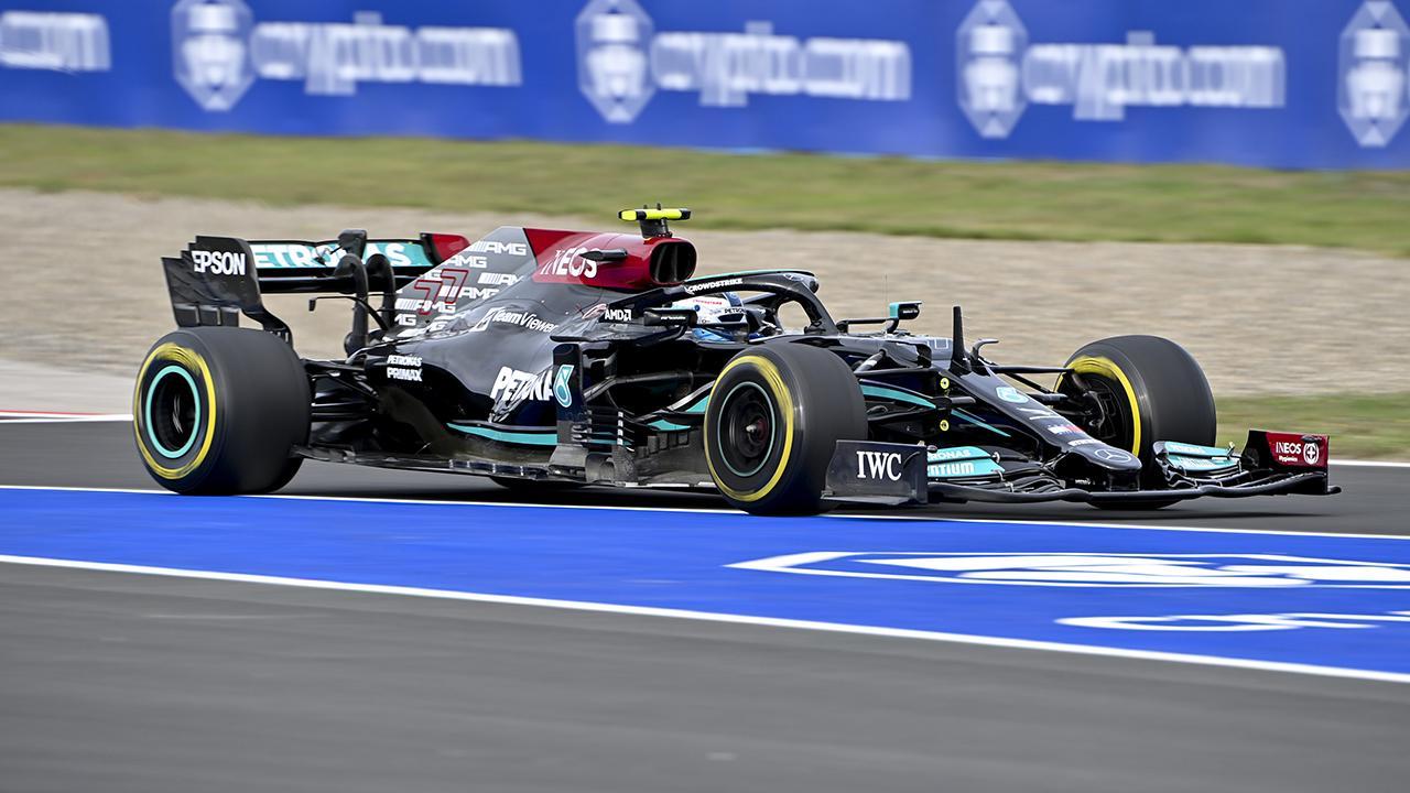 Formula 1 Türkiye Grand Prix'sinde kazanan Valtteri Bottas