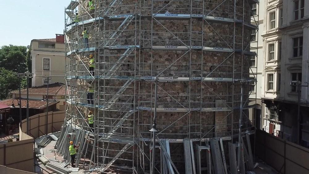 Galata Kulesi'nde restorasyon ertelendi