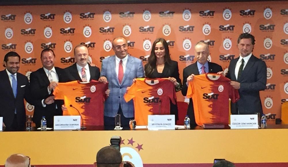 Galatasaray'ın yeni forma sponsoru SIXT oldu