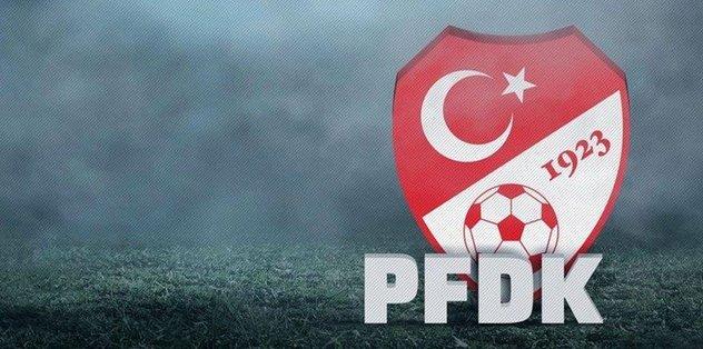 Galatasaray ve Trabzonspor PFDK'ya sevk edildi