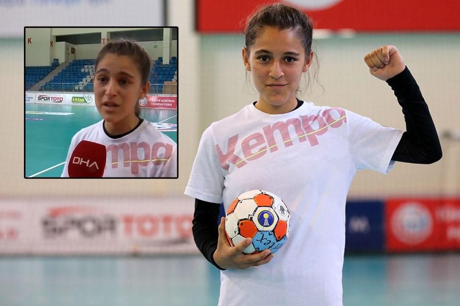 Genç sporcu Merve Akpınar'ın azmi önyargıyı yendi