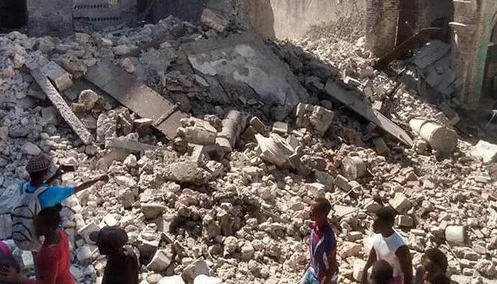 Haiti'de 7,2 büyüklüğündeki depremde bilanço artıyor