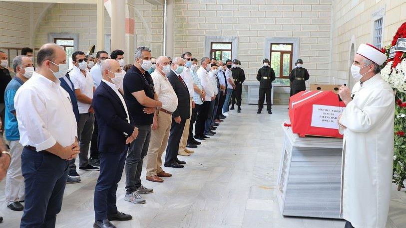 Hasan Akgün Tahsin Sancar'ın cenaze törenine katıldı