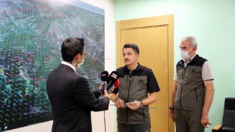 Hatay'daki orman yangınına ilişkin 'sabotaj' açıklaması