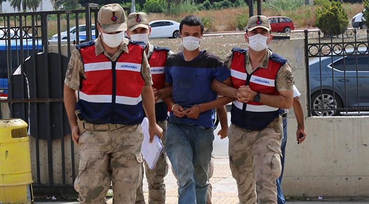 Hatay'daki orman yangınına tutuklama