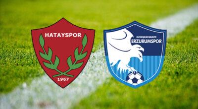 Hatayspor-Erzurumspor maçına koronavirüs ertelemesi
