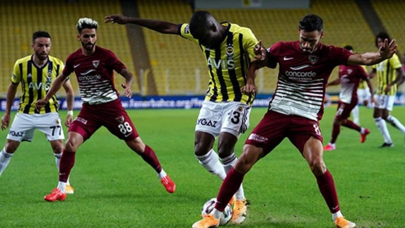 Hatayspor - Fenerbahçe maçı Covid-19 vakaları nedeniyle iptal edildi