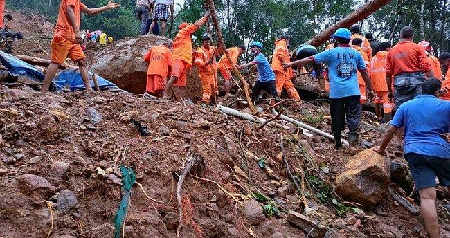 Hindistan'da şiddetli yağışlar sonucu 18 kişi öldü