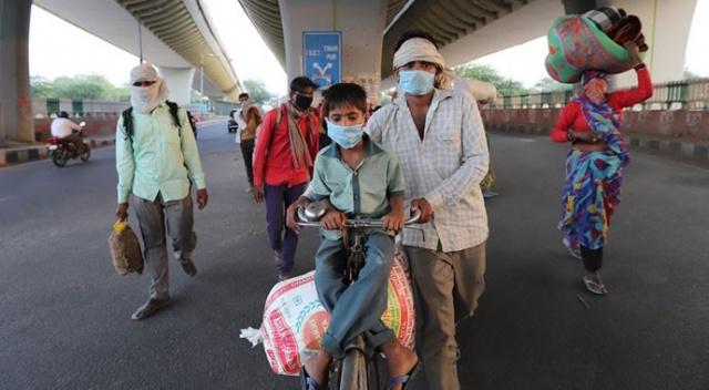 Hindistan'da son 24 saatte 40 binden fazla koronavirüs vakası