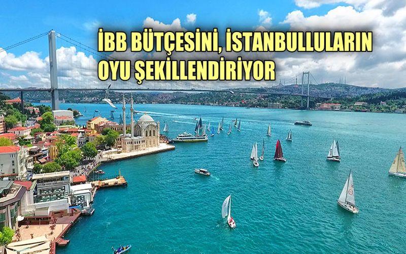 İBB bütçesini, İstanbulluların oyu şekillendiriyor