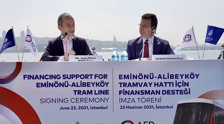 İBB ile Fransız Kalkınma Bankası arasında kredi anlaşması
