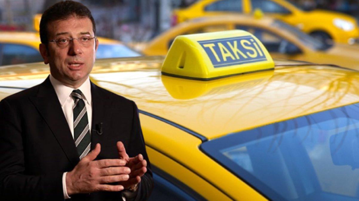 İBB'nin yeni taksi planı belli oldu