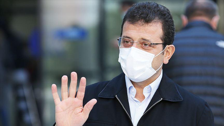 İmamoğlu: İstanbul'da Mart'tan beri bulaşıcı hastalıktan ölenlerin sayısı 10 bin 681