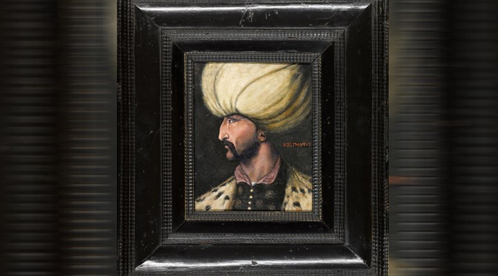 İmamoğlu: Kanuni Sultan Süleyman portresi İBB'ye bağışlandı