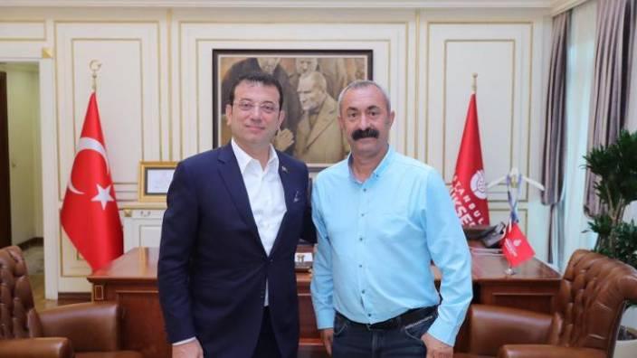 İmamoğlu'ndan Tunceli'deki yangınla ilgili açıklama: Her türlü desteği vermeye hazırız