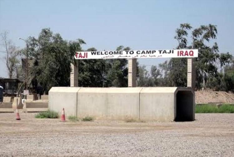 Irak'ta ABD'nin Taci askeri üssüne roketli saldırı