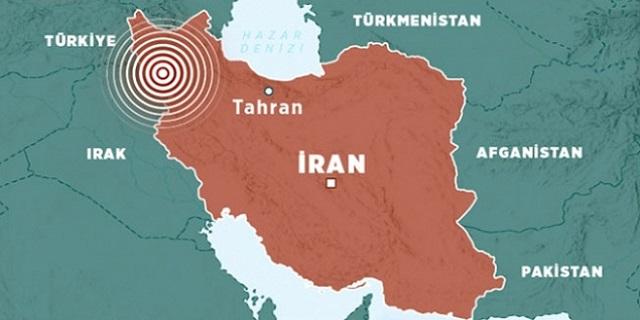 İran'da da deprem!