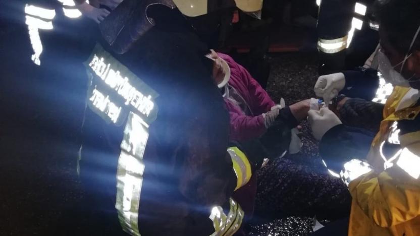 İşçi servisi kaza yaptı: 23 işçi yaralı