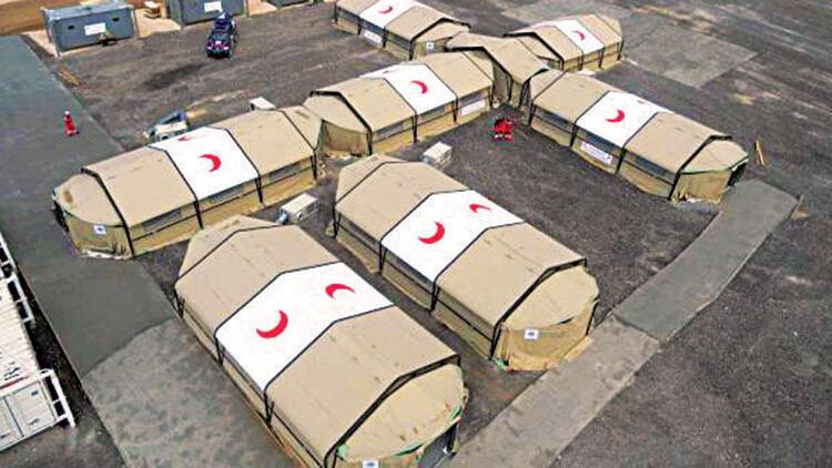 İstanbul'a sahra hastanesi kuruluyor