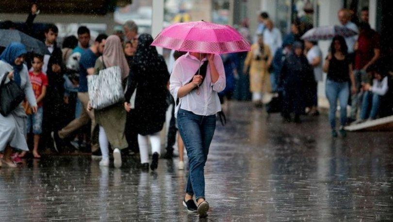 İstanbul'a yarın için sağanak uyarısı