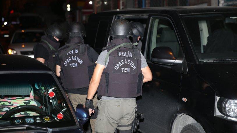 İstanbul'da 10 ilçede eş zamanlı IŞİD operasyonu