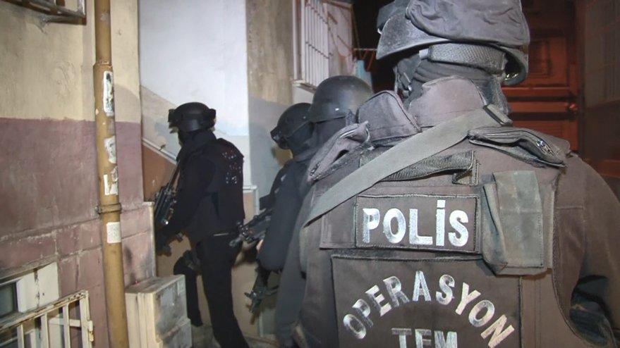 İstanbul'da 10 ilçede terör örgütü IŞİD'e yönelik operasyon