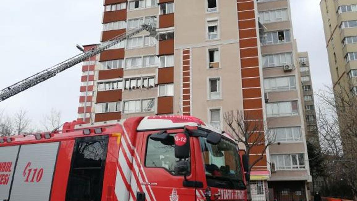 İstanbul'da 14 katlı binada patlama