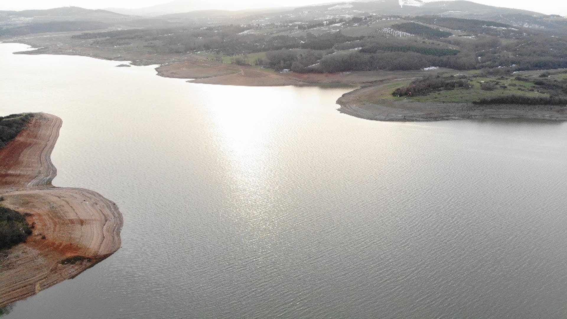 İstanbul'da baraj doluluk oranı yüzde 40,39'a yükseldi