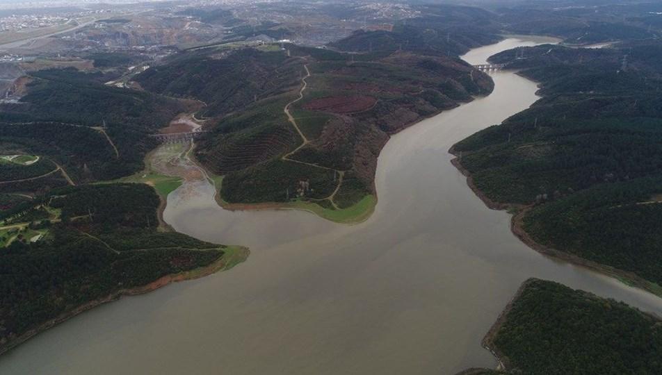 İstanbul'da baraj doluluk oranları yüzde 58,83'e düştü