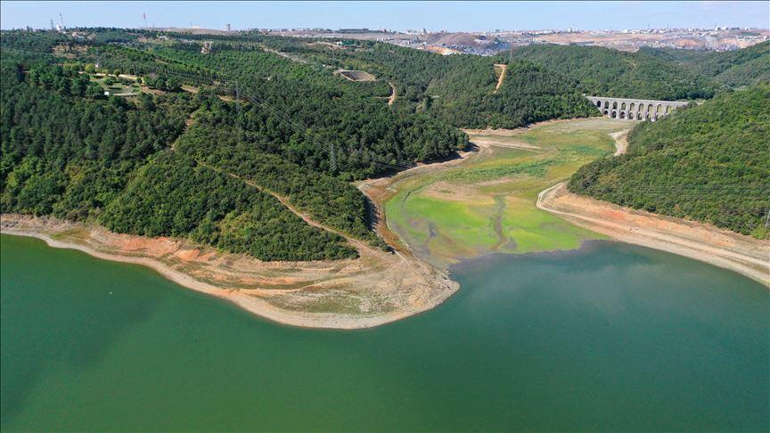İstanbul'da barajlardaki su seviyesi yüzde 30'a indi