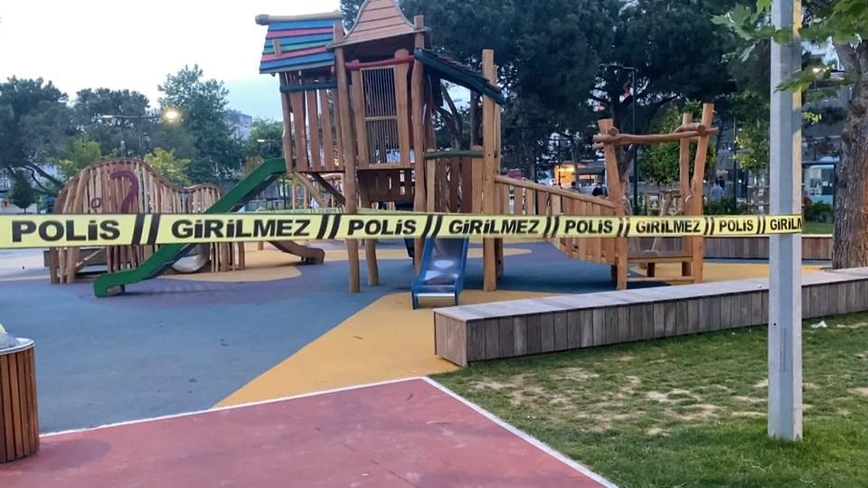 İstanbul'da çocuk parkında silahlı ve bıçaklı kavga
