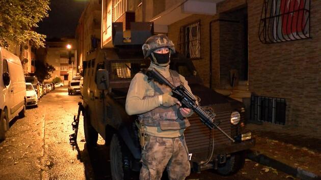 İstanbul'da uyuşturucu operasyonu: Gözaltılar var