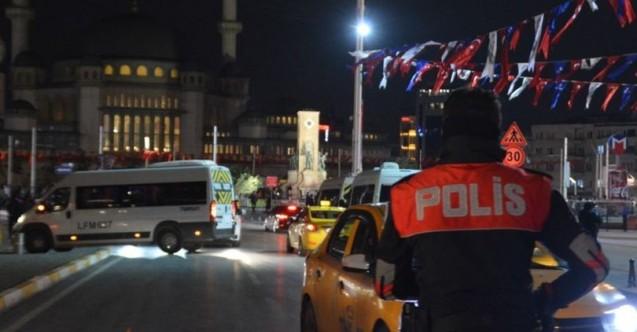İstanbul'daki asayiş uygulamasında 405 şüpheli yakalandı