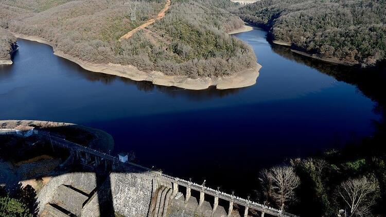 İstanbul'daki barajların doluluk oranlarında son durum